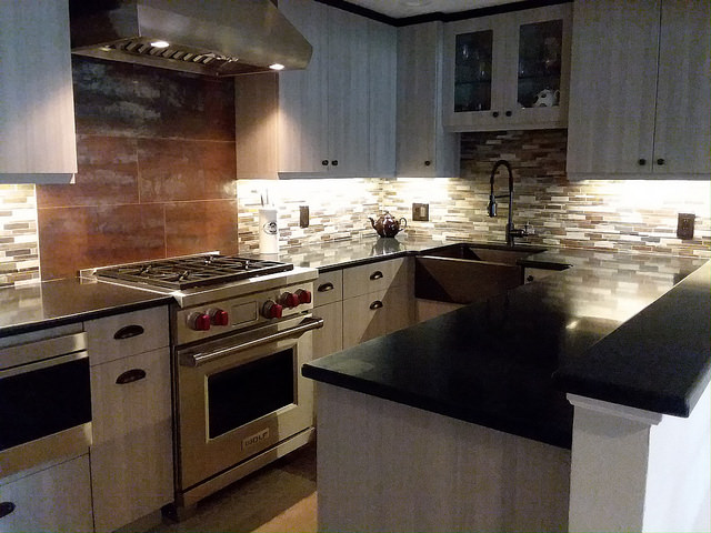 High-End Galley Kitchen